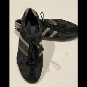 Coach Womens Jayme Signature Sneakers Black